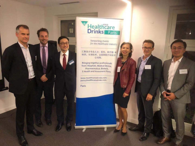2019 - 10-09 Paris Healthcare Drinks Event